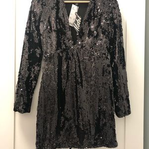 Urban Outfitter mini sequins dress